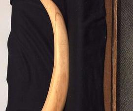 Wooden Elephant Tusk