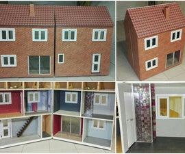 Wood Barbie dollhouse