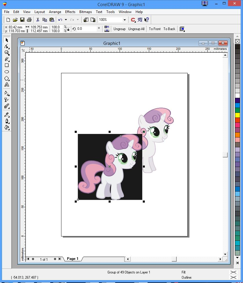 Picture of Trace the Image Into a Vector...