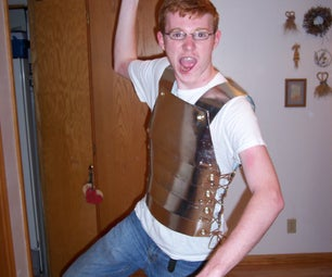 "Roman Legionaire ""ish"" Homemade Body Armor"