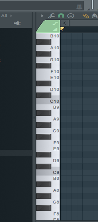 Picture of Piano Roll