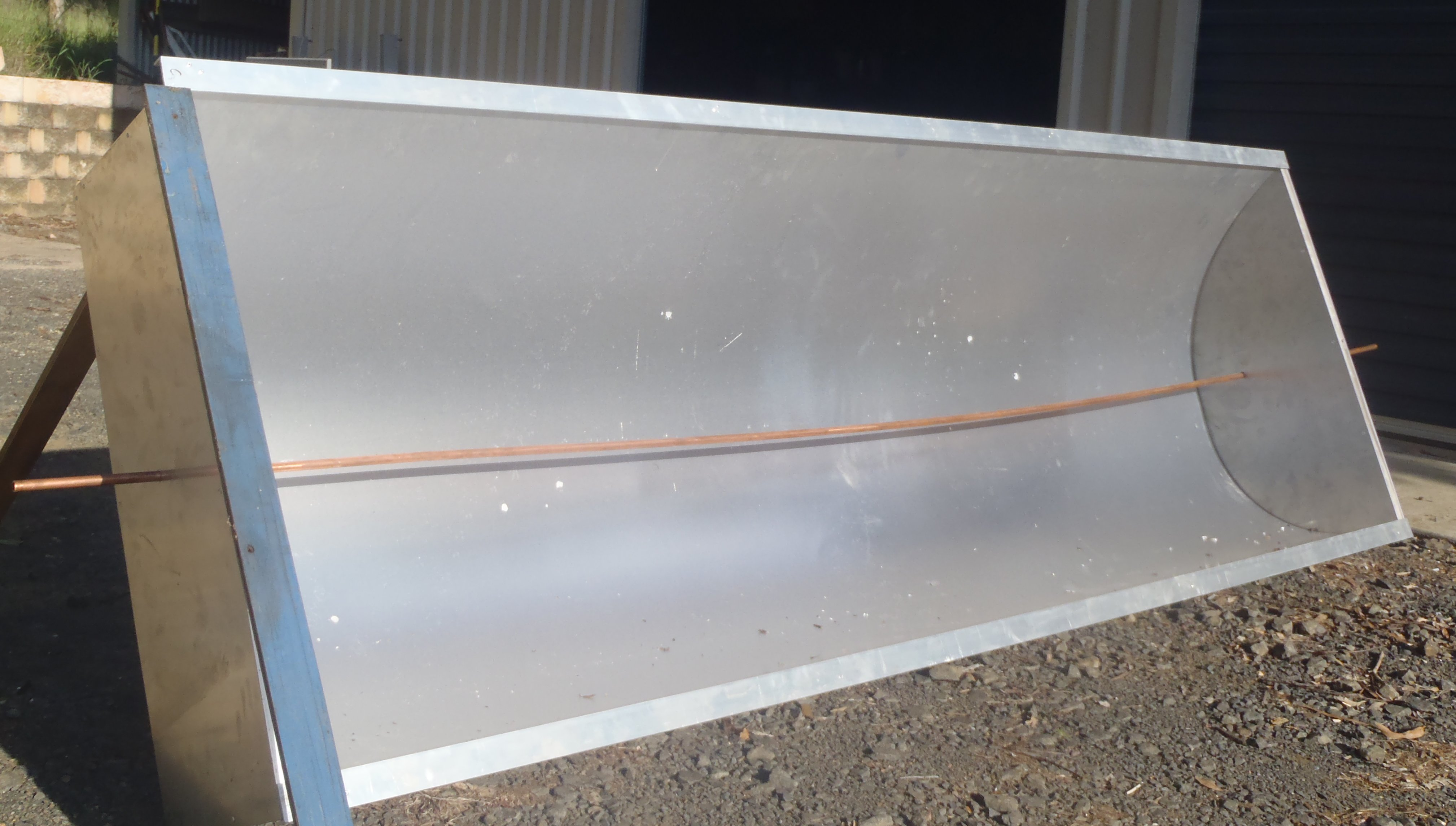 Picture of How to Build a Concentrating Solar Trough