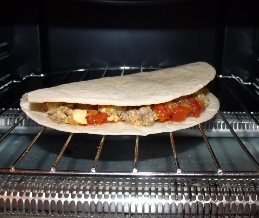 Picture of Brunch Taco or How to S T R E T C H Your Food Budget