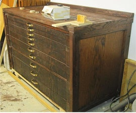 DIY Tool Chest with shallow drawers