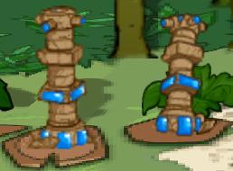 Blue Pillars