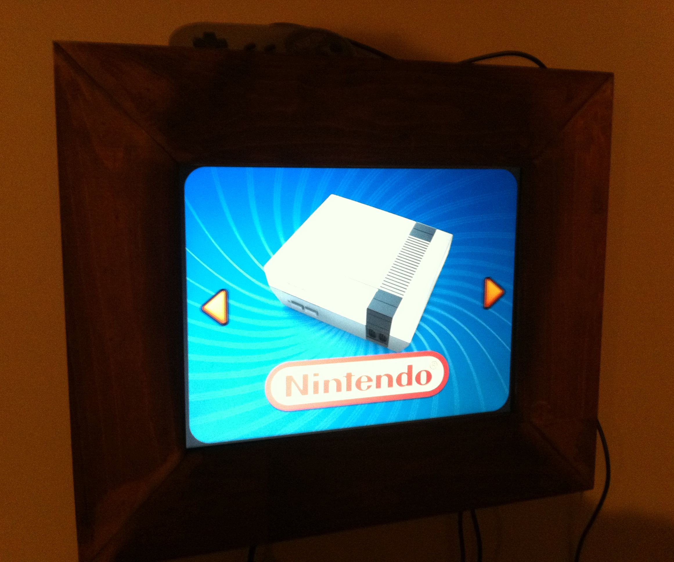 50$ Wall Mounted Arcade Cabinet: 4 Steps