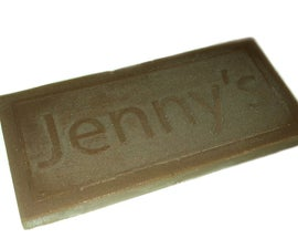 Chocolate Bar Food-Safe Mold & Cast