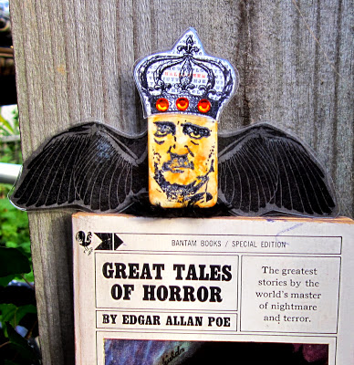 Picture of Edgar Allan Poe Bookmark/Plant Stick