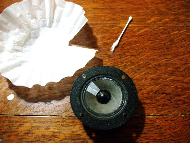 Picture of Repairing the Paper Cones