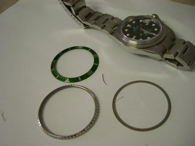 Remove and Replace the Bezel on Your Rolex Submariner.