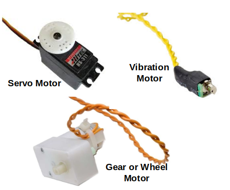Picture of Three Different Motors