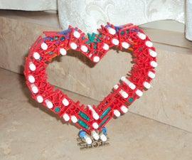 Knex Heart for Valentine's Day