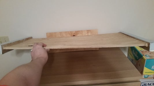 Cut a Top and 3 Side Rails to Fit Chest