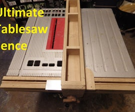 The Ultimate Table Saw Fence