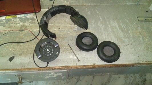 Disassemble the Headphone