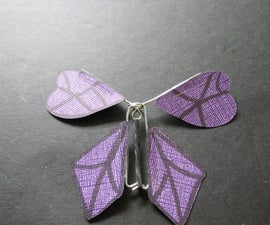 How to Make a Twirling Paper Butterfly