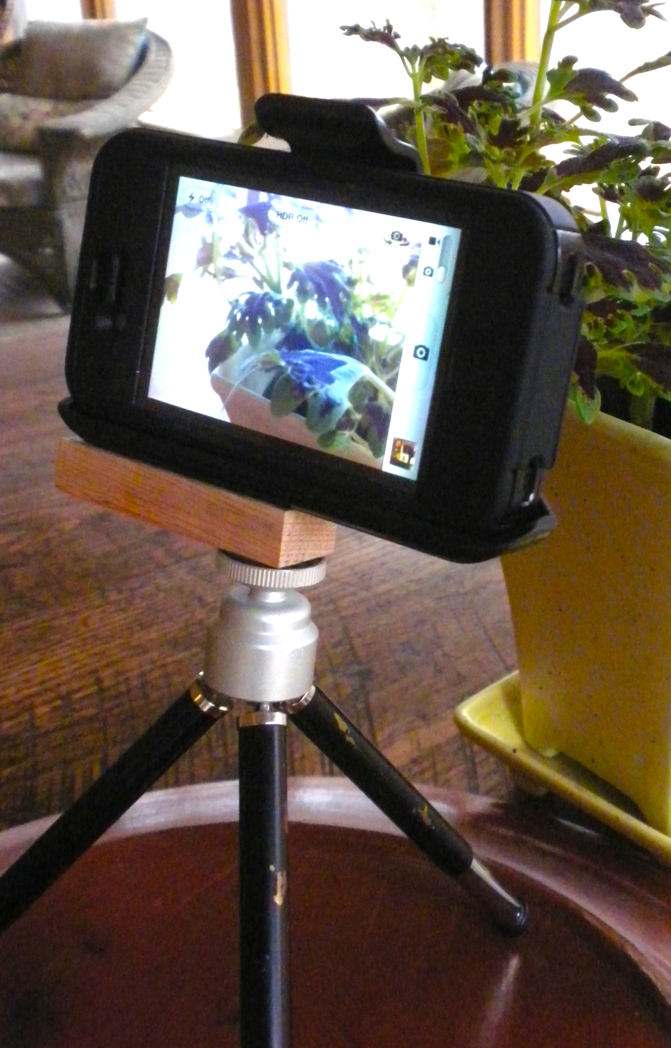 Picture of IPhone Tripod Mount From OtterBox Holster