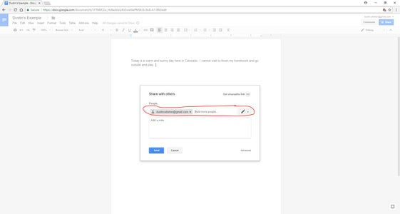 Adding Participants With Thier Email Addresses
