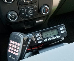 No Damage Ham Radio Installation