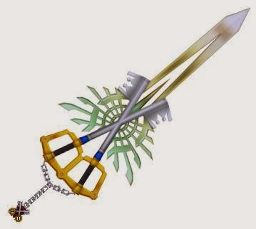 Picture of How to Make an X-Blade (Kingdom Hearts)