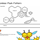 How To: Make a Felt Combee Pokemon Plush