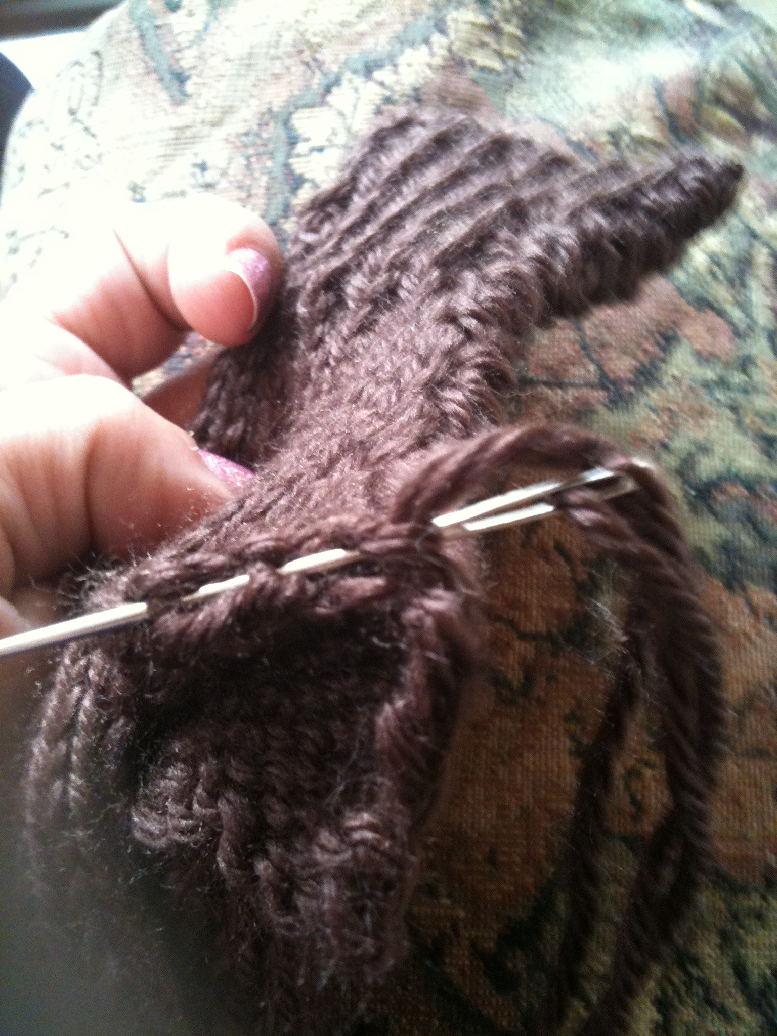 Picture of Weave Around Thumb Sleeve
