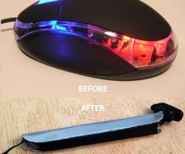 How to Turn a Mouse Into an Optical Pen (OPTIPEN)