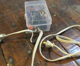 AC Arduino dimming circuit