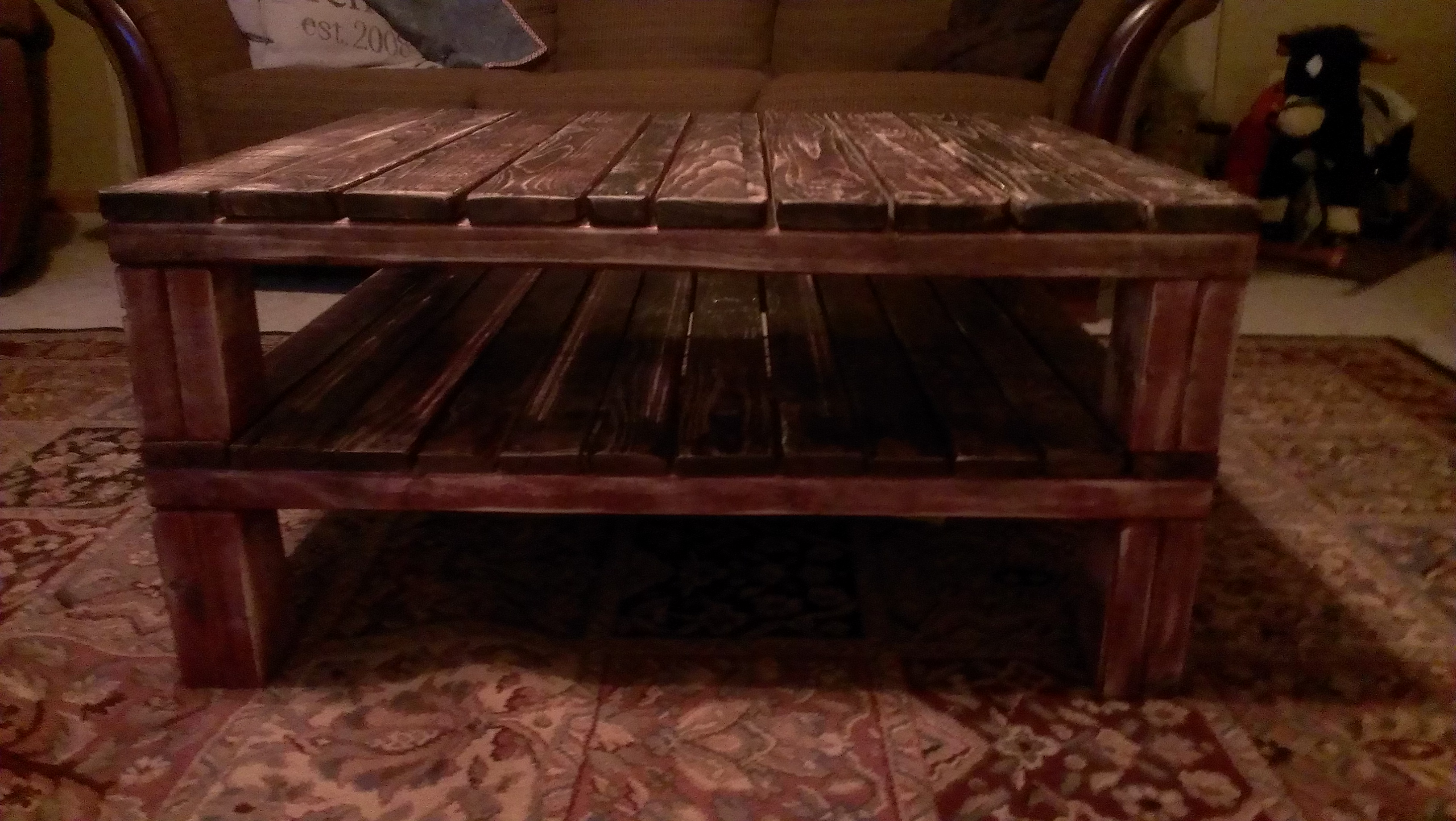 Picture of Pallet Coffee Table 2