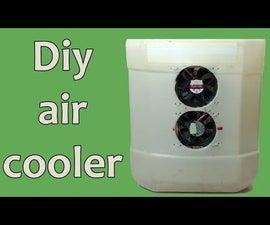 How to Make a Homemade Mini Air Cooler