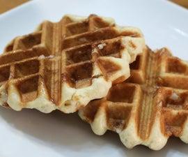 Belgian Sugar Waffles | Liege Waffle Recipe