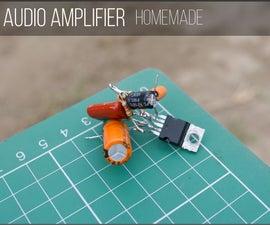 DIY Super Simple Audio Amplifier