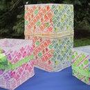 Dums Dums Wrapper Decoration: Candle Holder Craft