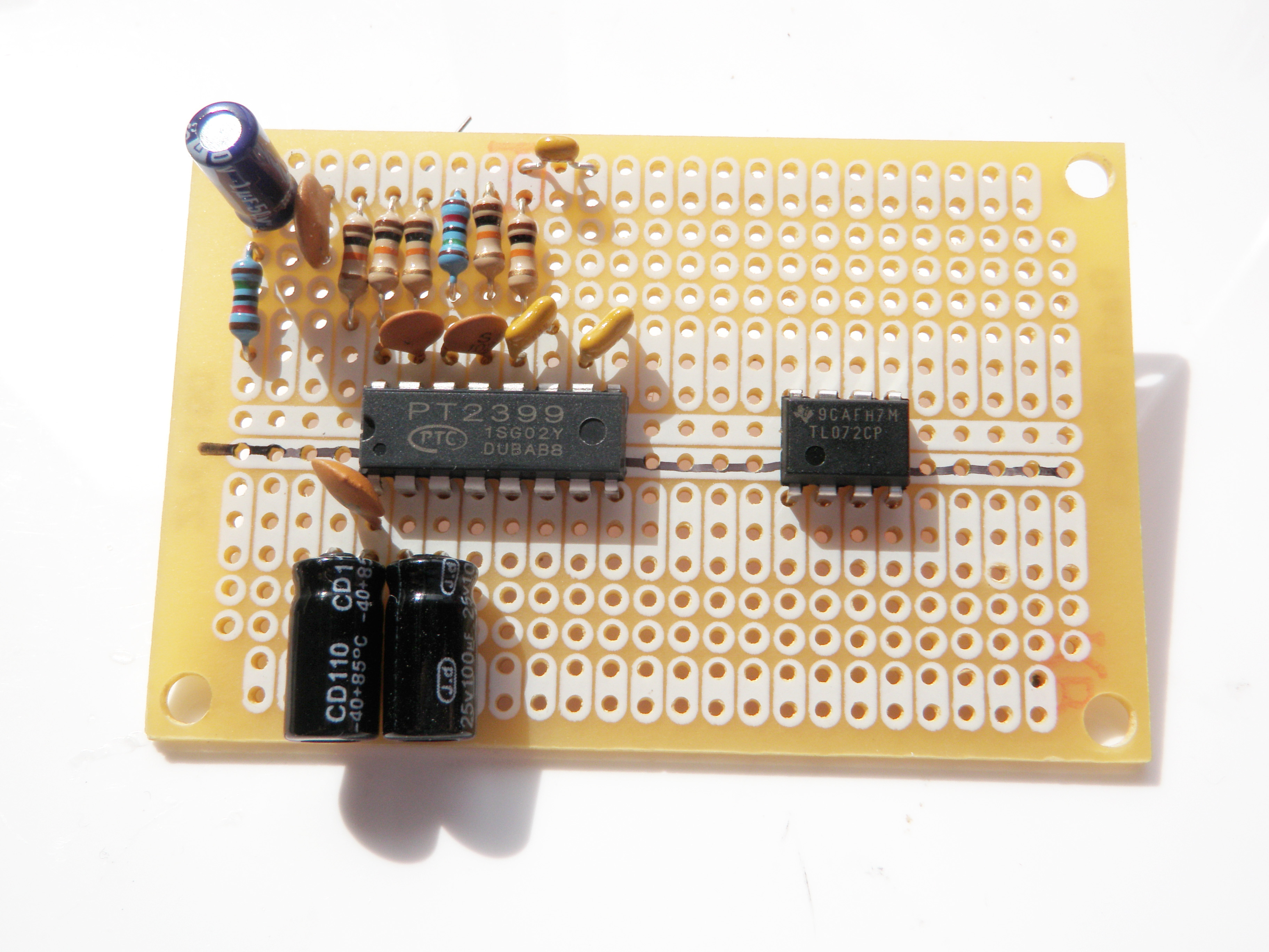 Picture of Solder the Circuit