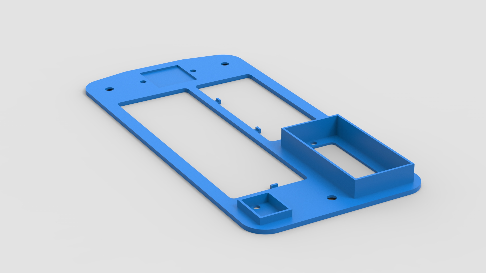 Picture of 3D Printing and CAD Model of Parts