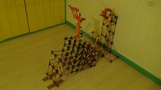 K'nex Ball Machine Lift Instructions: Full Automatical Giant Ball Catapult
