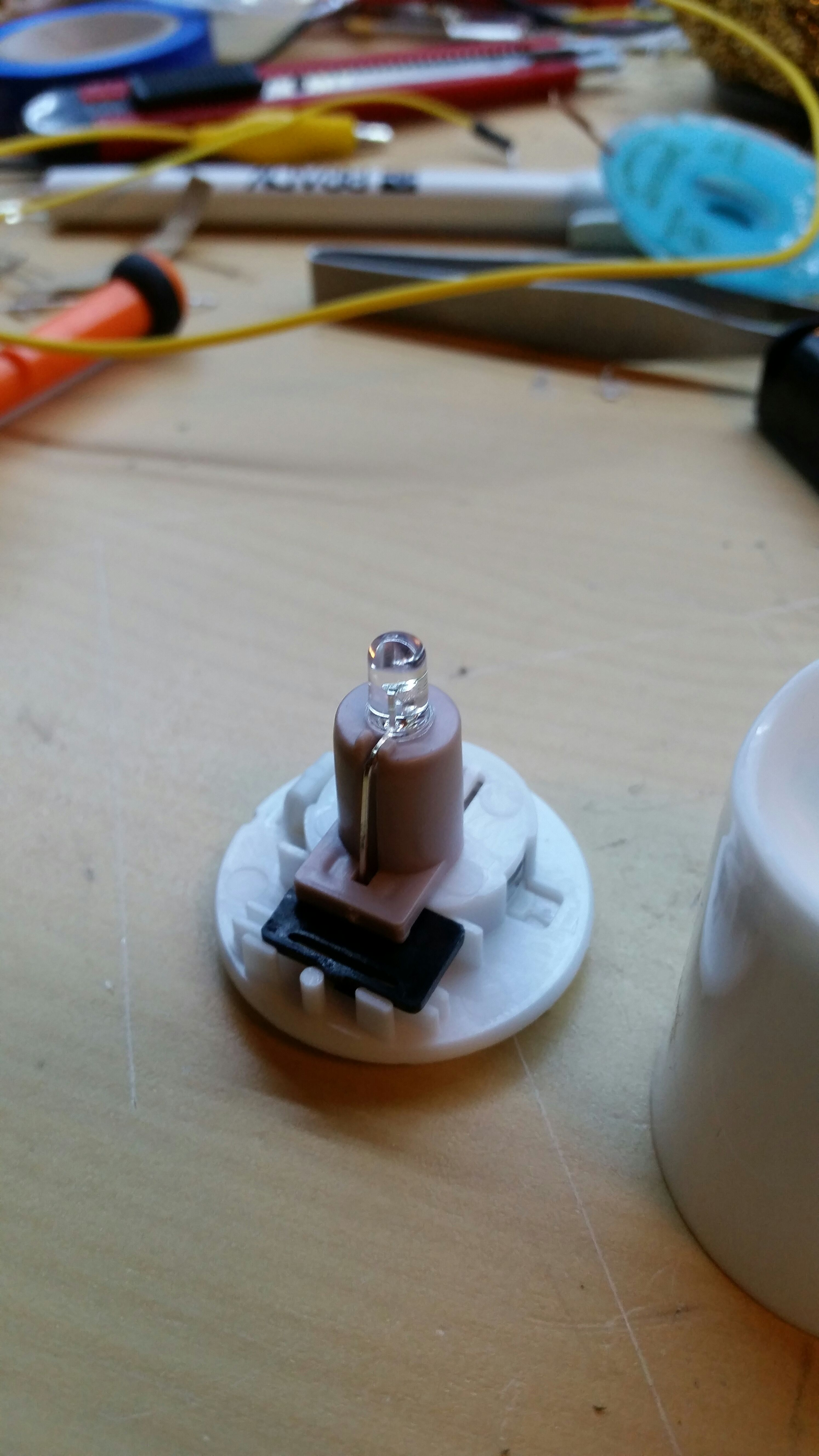 Picture of Strip the Led Candle.