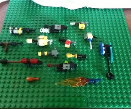 Collection of Awesome Mini Lego Guns