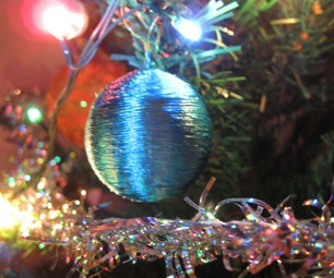 Christmas Tree Toy From Ping Pong Ball