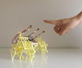 Training Theo Jansen's Mini BEEST