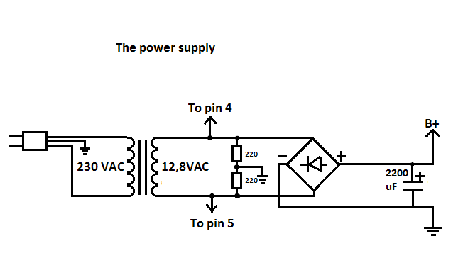 Picture of The Power Supply: Parts 'n Stuff