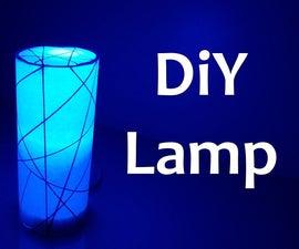 Diy Lamp With Paper