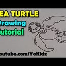 How to Draw Sea Turtle