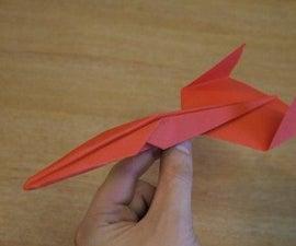 Paper plane: The piranha