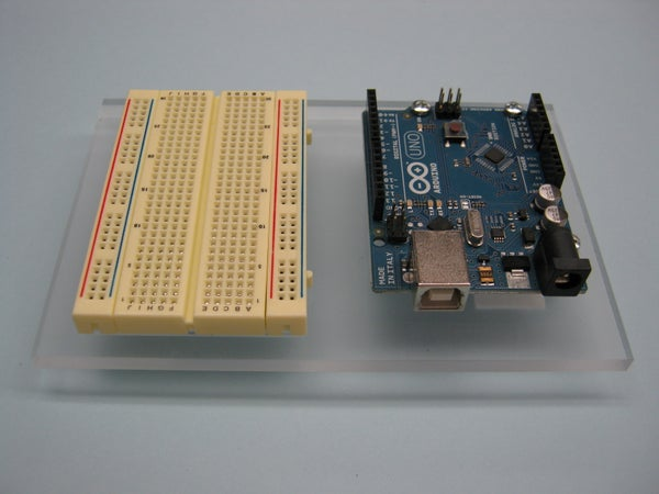 Acrylic Arduino Prototyping Stand