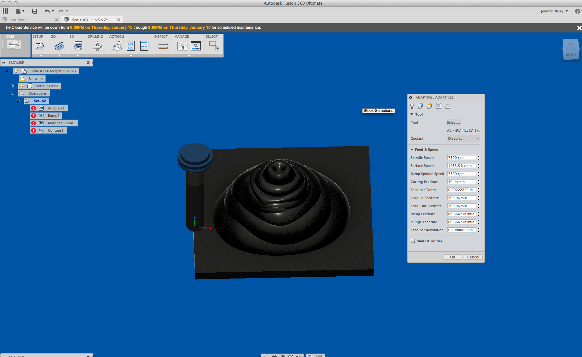 Picture of Select Your Toolpath