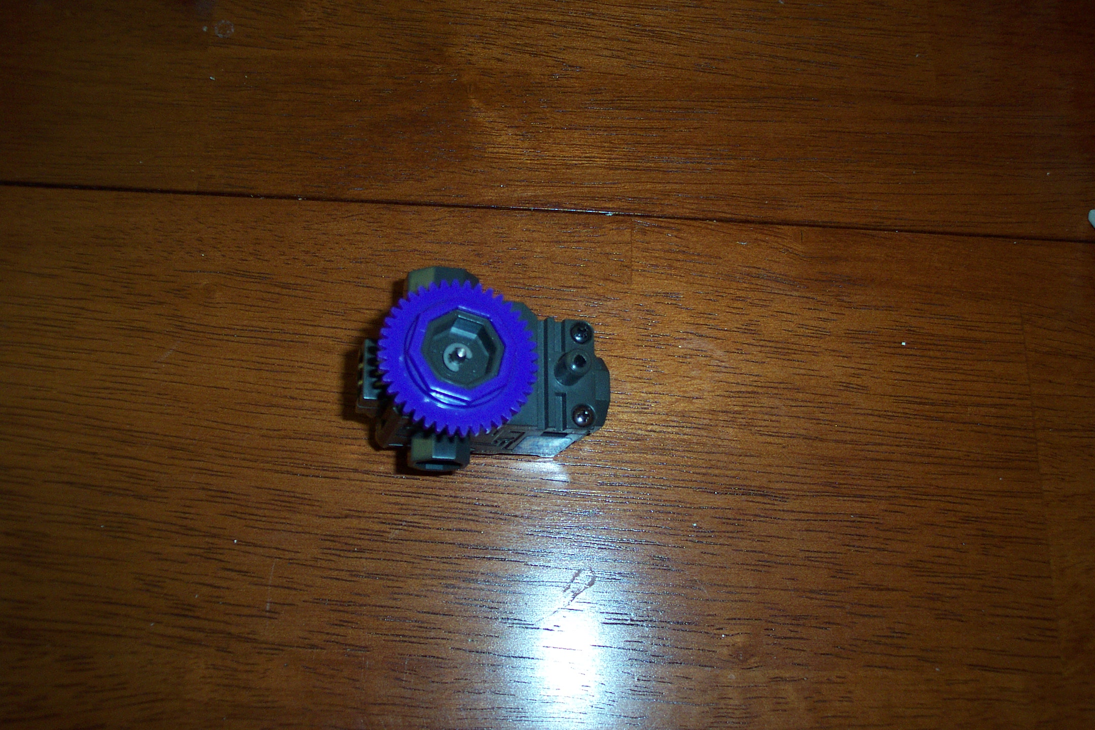 Picture of Attach the Drive Axle to the Low Speed Motor Shaft.