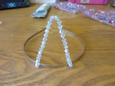 Create and Attach the Pieces of the Tiara