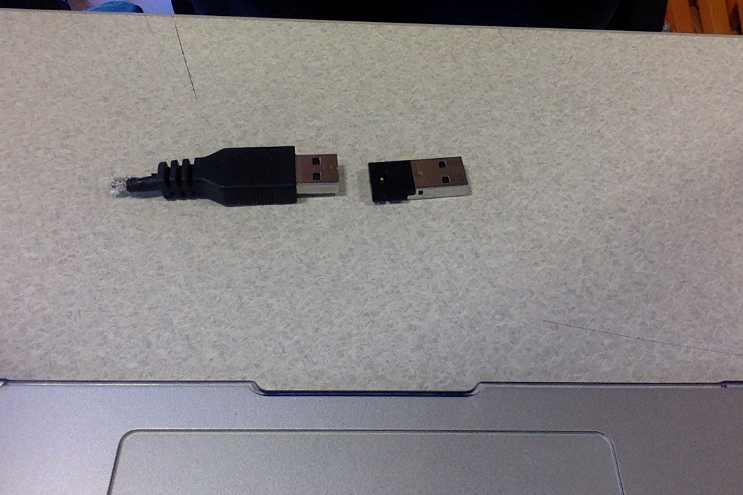 Picture of Method 2: Frayed USB