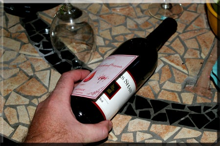 Make-Over Your Wine Bottles for Your Halloween Party!